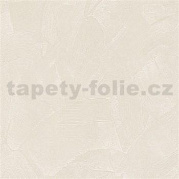 Vliesové tapety na zeď Belinda stěrkovaná omítka krémová