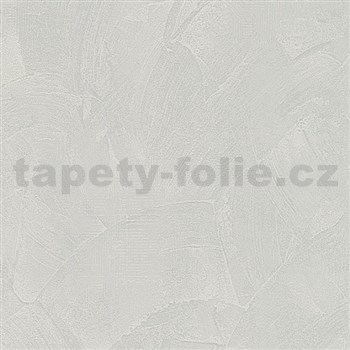 Vliesové tapety na zeď Belinda stěrkovaná omítka šedá