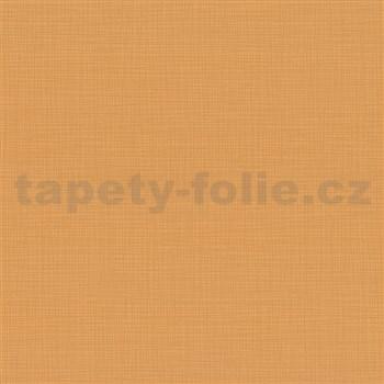 Vliesové tapety na zeď Novara strukturované oranžové