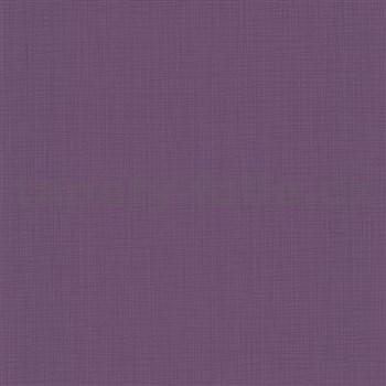 Vliesové tapety na zeď Novara strukturované fialové