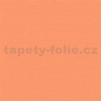 Vliesové tapety na zeď IMPOL Novara 3 strukturované jednobarevné oranžové
