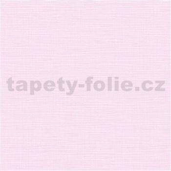 Vliesové tapety na zeď IMPOL Novara 3 strukturované jednobarevné světle růžové