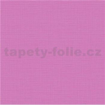 Vliesové tapety na zeď IMPOL Novara 3 strukturované jednobarevné růžové