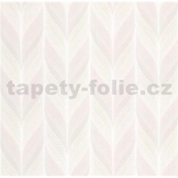 Vliesové tapety na zeď Einfach Schoner 3 retro vzor světle hnědý