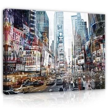 Obraz na plátně New York 78 x 120 cm