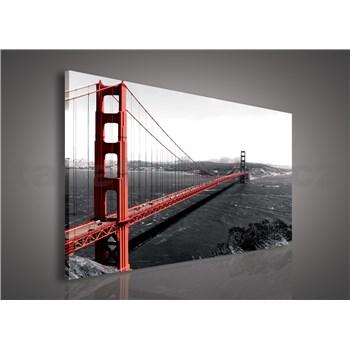 Obraz na plátně Golden Gate Bridge 75 x 100 cm