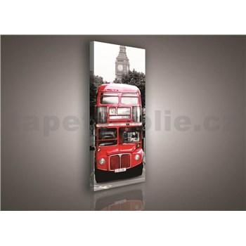 Obraz na plátně Double Decker 145 x 45 cm