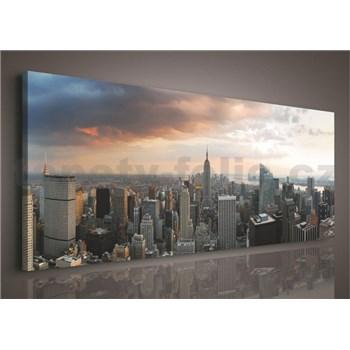 Obraz na plátně New York 45 x 145 cm