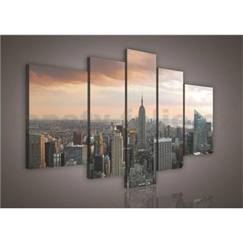 Obraz na plátně New York 170 x 100 cm