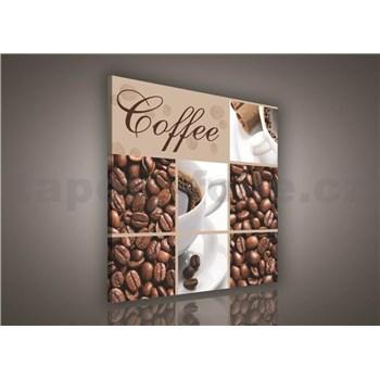 Obraz na plátně Coffee 80 x 80 cm