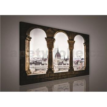 Obraz na plátně Budapešť 75 x 100 cm