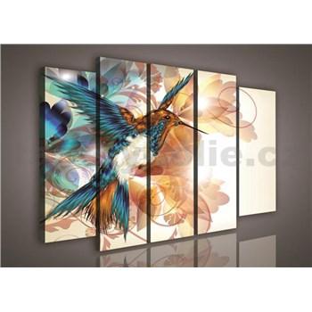 Obraz na plátně kolibřík 150 x 100 cm