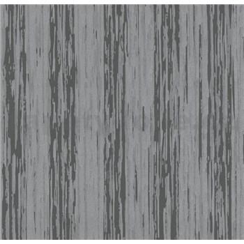 Vliesové tapety na zeď Opal žíhané pruhy šedé s jemným třpytem - POSLEDNÍ KUSY