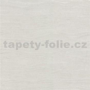 Vliesové tapety na zeď Opulence vlnovky světle šedé