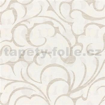 Vliesové tapety na zeď Opulence abstraktní vzor světle hnědý
