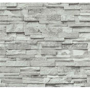 Vliesové tapety na zeď Origin - kámen pískovec šedý