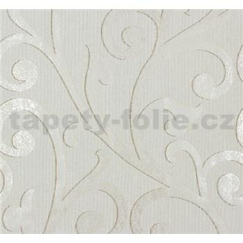 Vliesové tapety na zeď Ornamental Home - ornament svěle hnědý