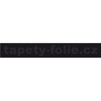 Samolepící ukončovací pásky černý matný 1,8 cm x 5 m