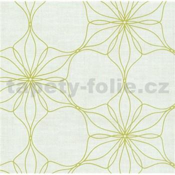 Vliesové tapety na zeď Polar květy zelené
