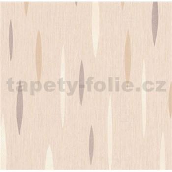 Vliesové tapety na zeď Polar abstrakt krémový, stříbrný, bílý