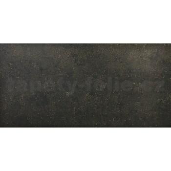 3D panel XPS BETON černo-zlatý 100 x 50 cm