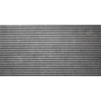 3D panel XPS BETON STRIPES šedý s vlnkami 100 x 50 cm