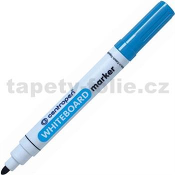 Stíratelný Centropen 8559 modrý, kulatý hrot, stopa 2,5 mm