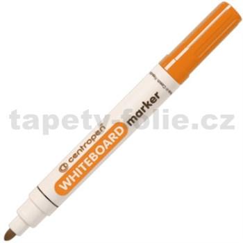 Stíratelný Centropen 8559 oranžový, kulatý hrot, stopa 2,5 mm