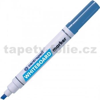 Stíratelný Centropen 8569 modrý, seříznutý hrot, stopa 1-4,5 mm
