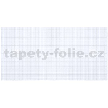 Obkladové 3D PVC panely rozměr 955 x 480 mm mozaika bílá