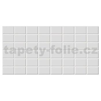 Obkladové 3D PVC panely rozměr 960 x 480 mm obklad bílý 7,5x11,5 cm