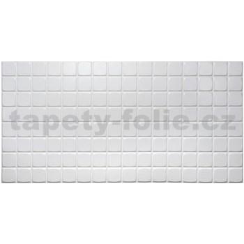 Obkladové 3D PVC panely rozměr 960 x 480 mm obklad bílý malý