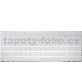 Obkladové 3D PVC panely rozměr 960 x 480 mm obklad bílý velký