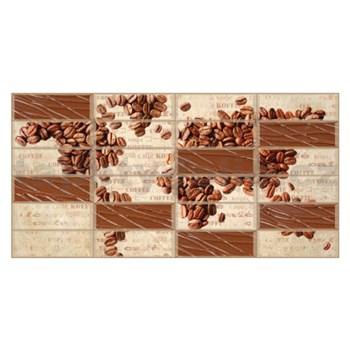 Obkladové 3D PVC panely rozměr 955 x 480 mm kávová zrna