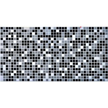 Obkladové 3D PVC panely rozměr 955 x 480 mm mozaika černá