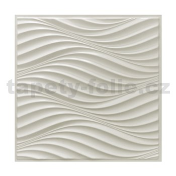 Obkladové 3D PVC panely rozměr 595 x 595 mm, tloušťka 0,6mm, PORTU 3D