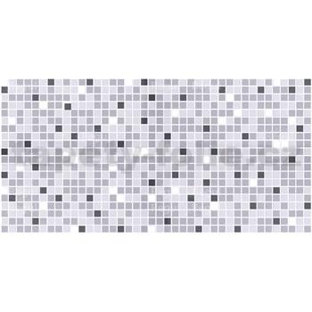 Obkladové 3D PVC panely rozměr 957 x 480 mm, tloušťka 0,4mm, mozaika šedá