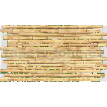 Obkladové 3D PVC panely rozměr 947 x 503 mm, tloušťka 0,4mm, bambus