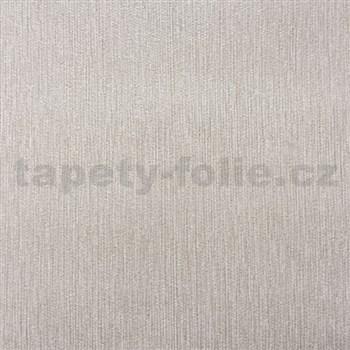 Papírové tapety na zeď strukturovaná světle hnědá