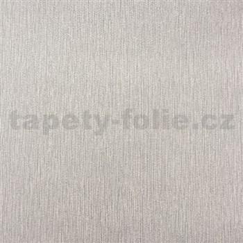 Papírové tapety na zeď strukturovaná šedá