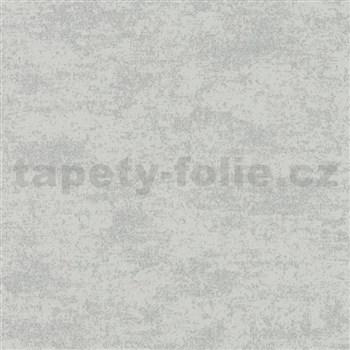Vliesové tapety Sand and Stones moderní stěrka šedohnědá s metalickými odlesky a strukturou
