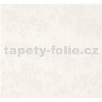 Vliesové tapety na zeď Sinfonia květy bílé