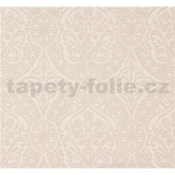 Vliesové tapety na zeď Sinfonia ornament světle béžový