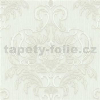 Vliesové tapety na zeď Spotlight - zámecký vzor bílý