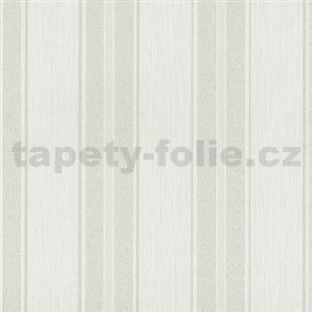 Vliesové tapety na zeď Spotlight - pruhy bílé - POSLEDNÍ 1 KS