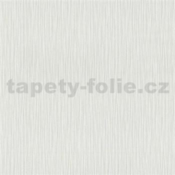 Vliesové tapety na zeď Spotlight - strukturovaná bílá