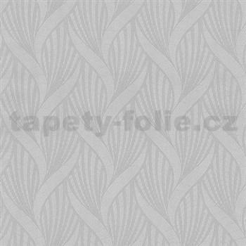 Vliesové tapety na zeď Spotlight 3D moderní vzor šedý