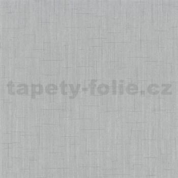 Vliesové tapety na zeď Spotlight - strukturovaná šedá