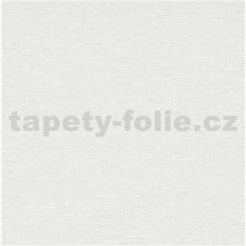 Vliesové tapety na zeď IMPOL Spotlight 3 strukturovaná jednobarevná bílá