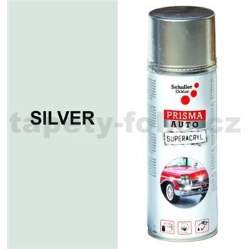 Sprej AUTO SUPERACRYL 400ml barva stříbrná